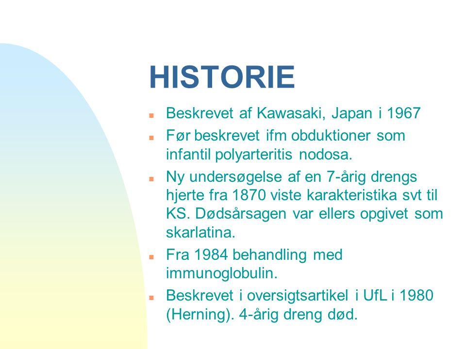 HISTORIE Beskrevet af Kawasaki, Japan i 1967