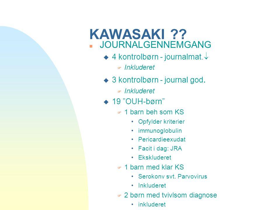 KAWASAKI JOURNALGENNEMGANG 4 kontrolbørn - journalmat.