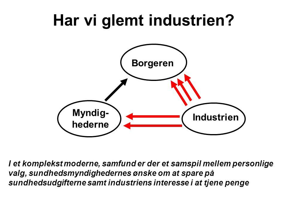 Har vi glemt industrien