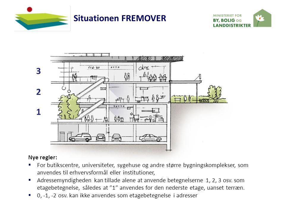 Situationen FREMOVER 3 2 1 (Park) Nye regler: