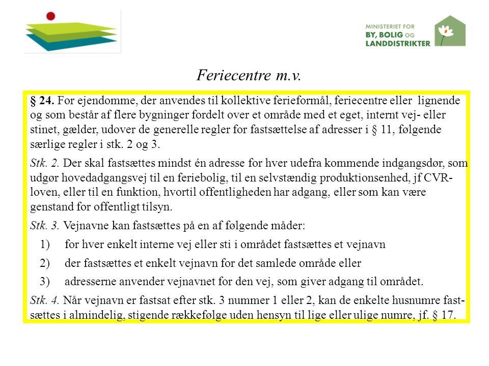 Feriecentre m.v.