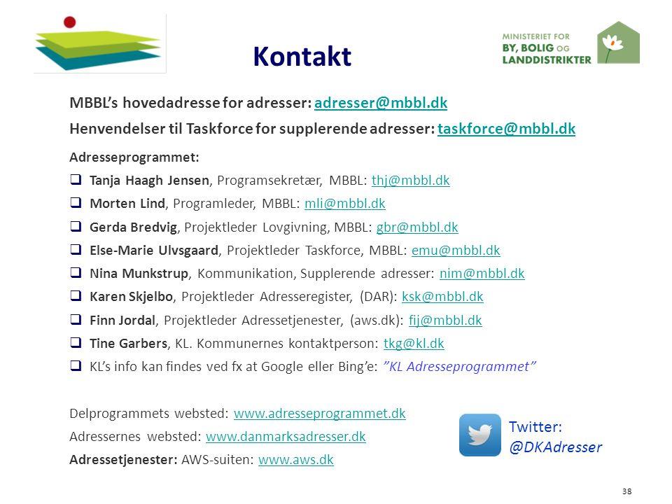 Kontakt MBBL's hovedadresse for adresser: adresser@mbbl.dk