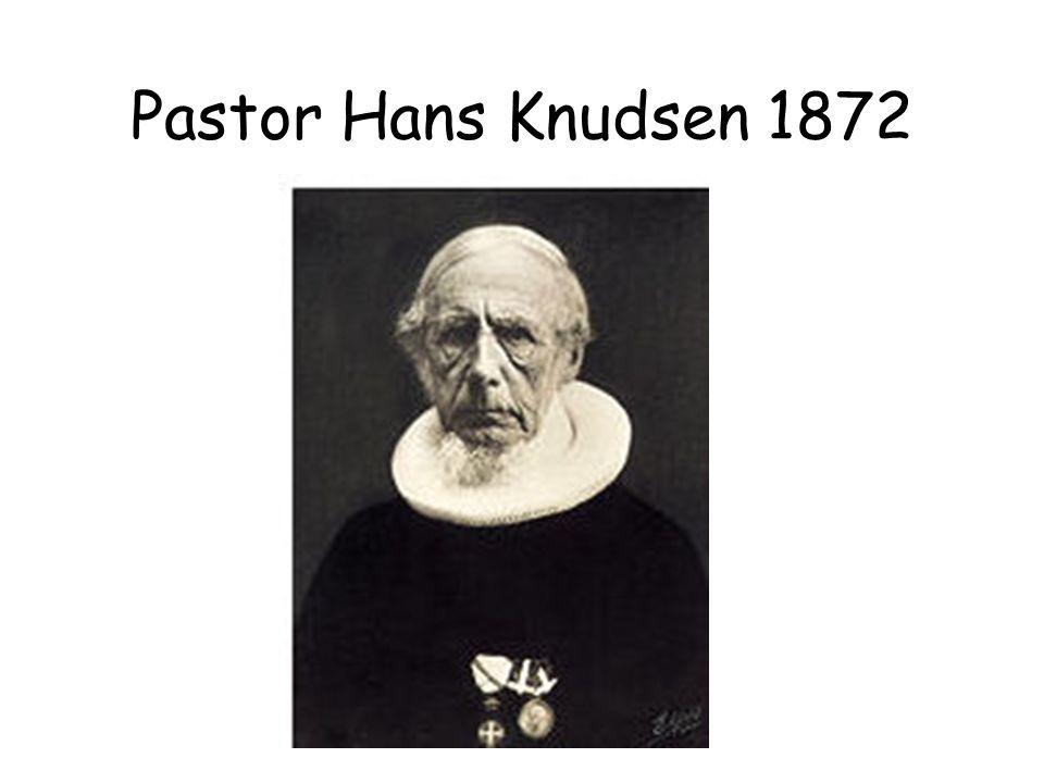 Pastor Hans Knudsen 1872
