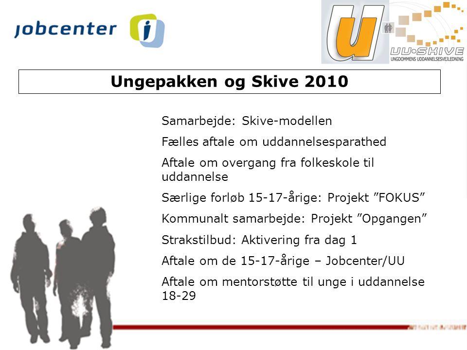 Ungepakken og Skive 2010 Samarbejde: Skive-modellen