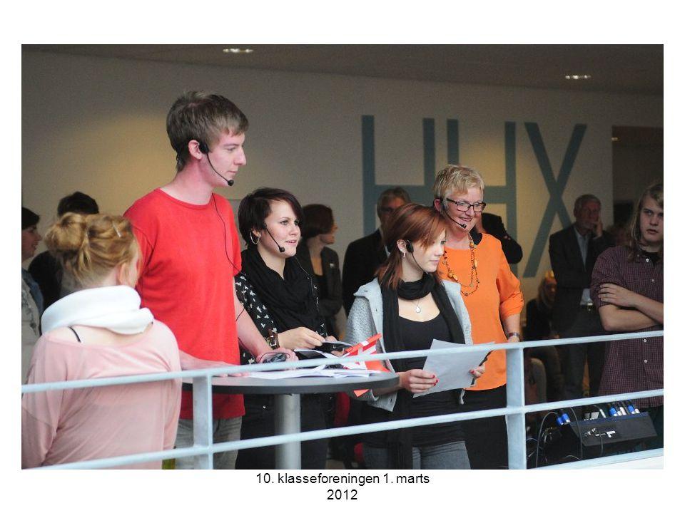 10. klasseforeningen 1. marts 2012