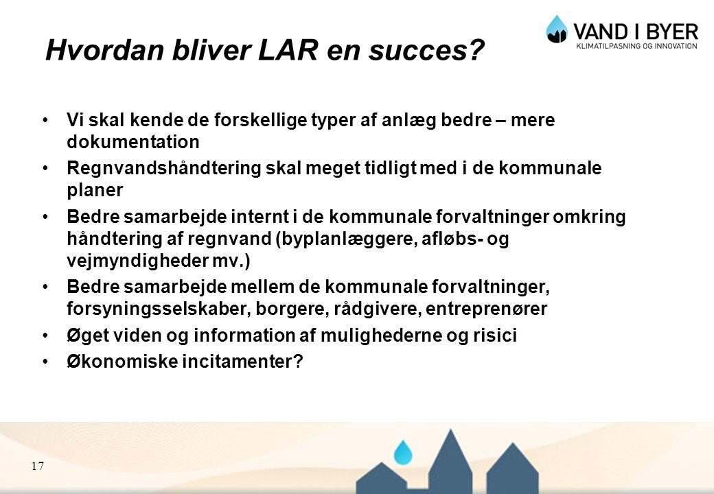 Hvordan bliver LAR en succes