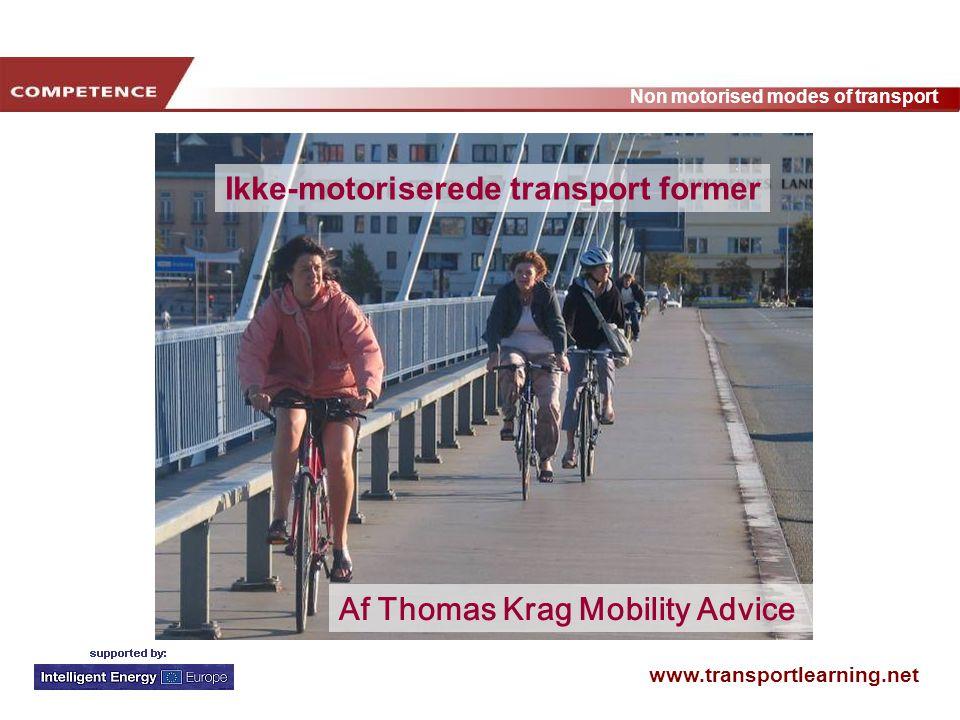 Ikke-motoriserede transport former