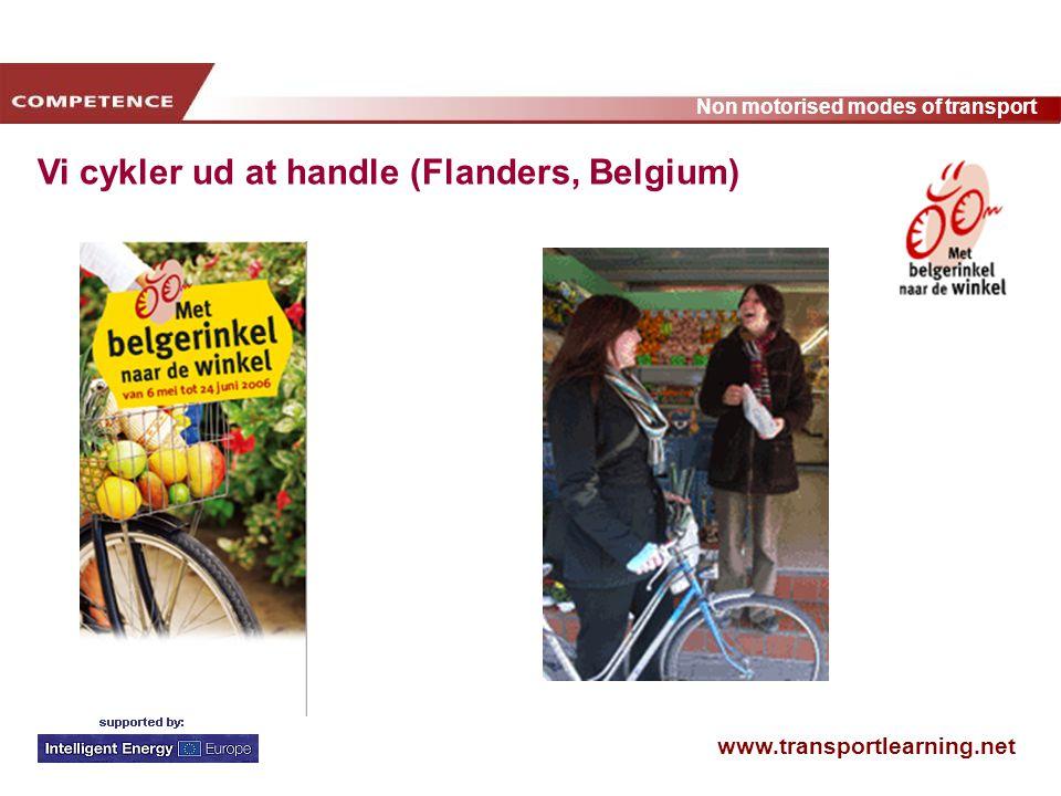 Vi cykler ud at handle (Flanders, Belgium)