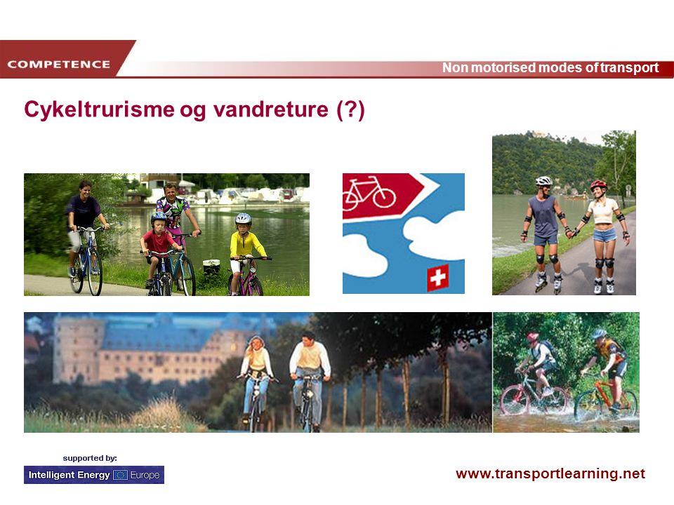 Cykeltrurisme og vandreture ( )