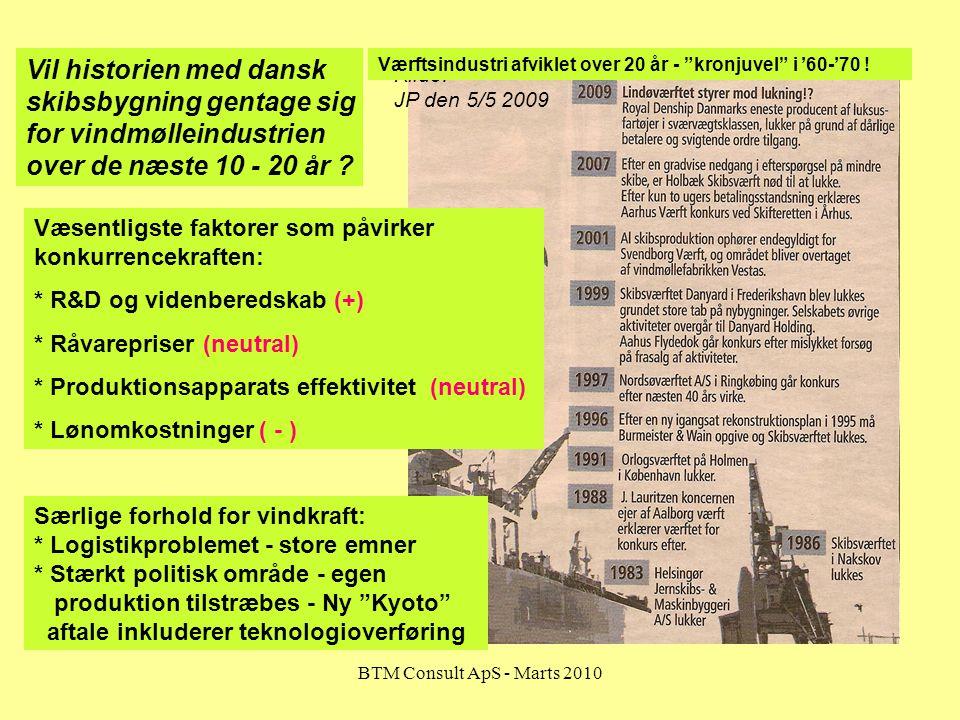 Vil historien med dansk skibsbygning gentage sig