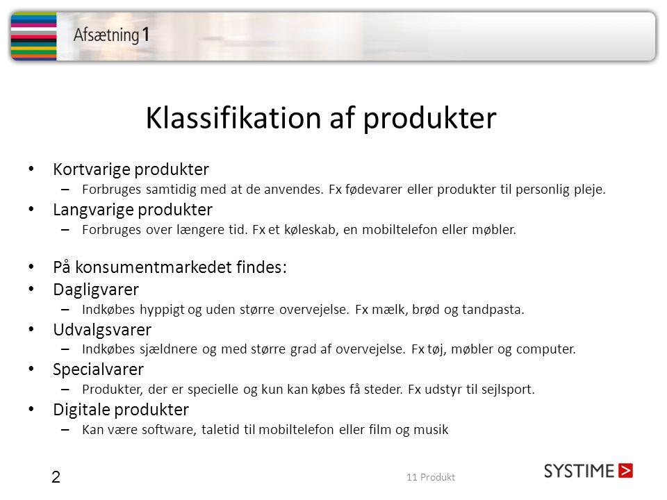Klassifikation af produkter