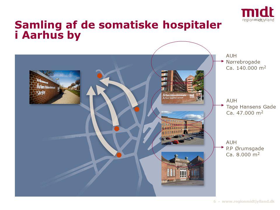 Samling af de somatiske hospitaler i Aarhus by