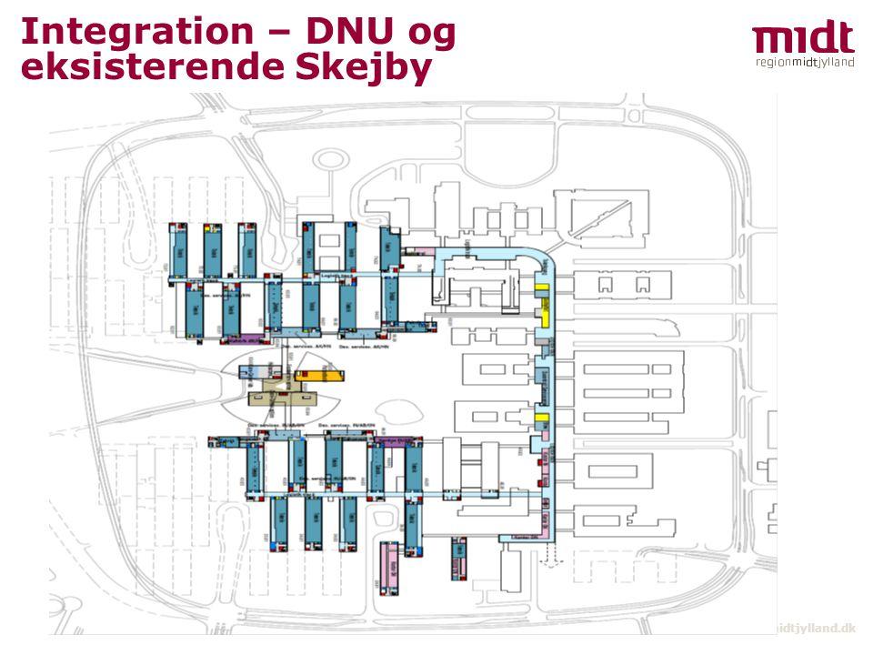 Integration – DNU og eksisterende Skejby