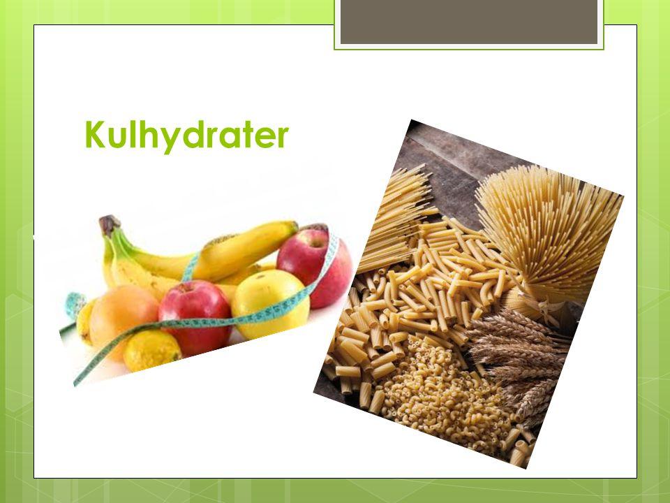 Kulhydrater