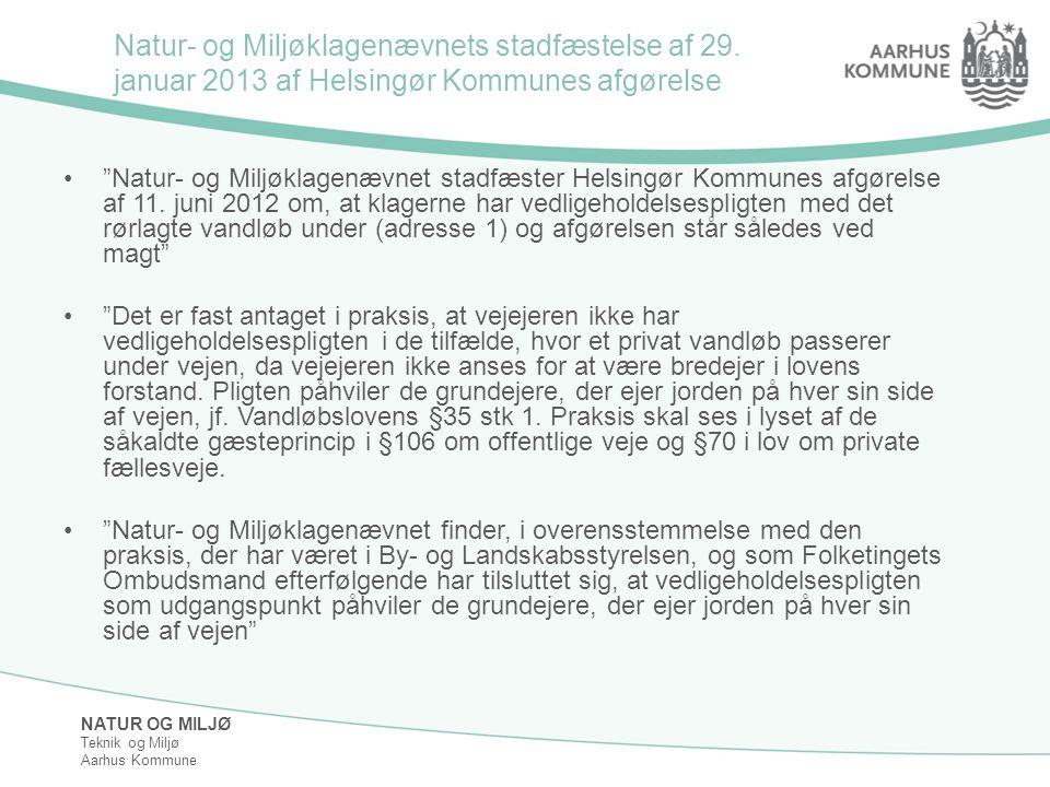 Natur- og Miljøklagenævnets stadfæstelse af 29