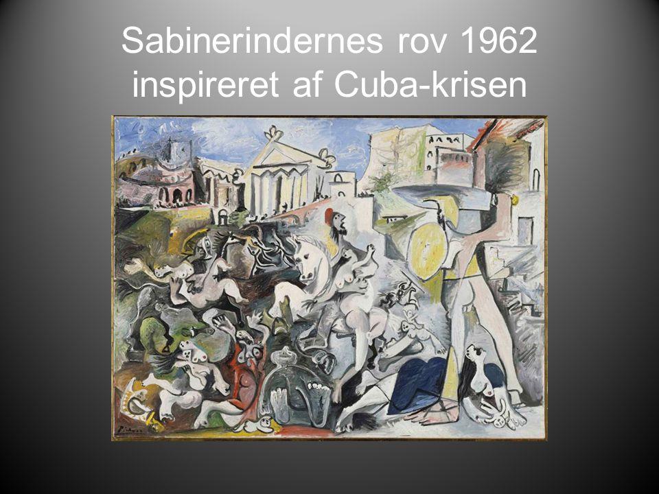 Sabinerindernes rov 1962 inspireret af Cuba-krisen