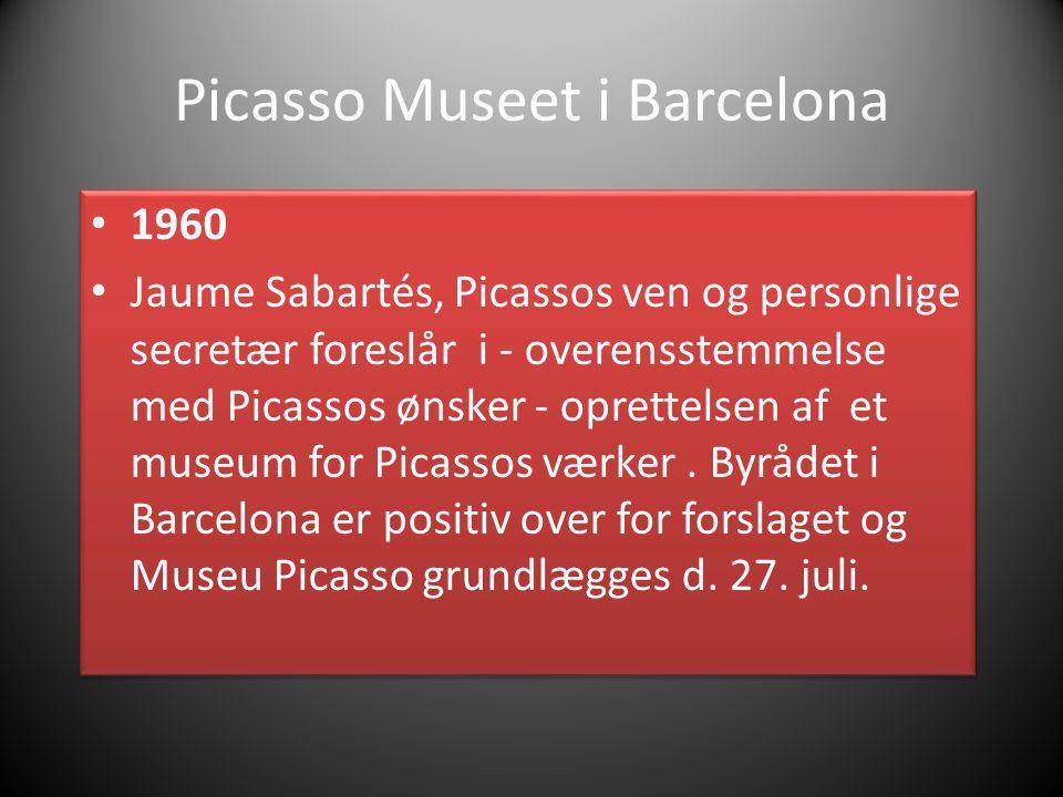 Picasso Museet i Barcelona