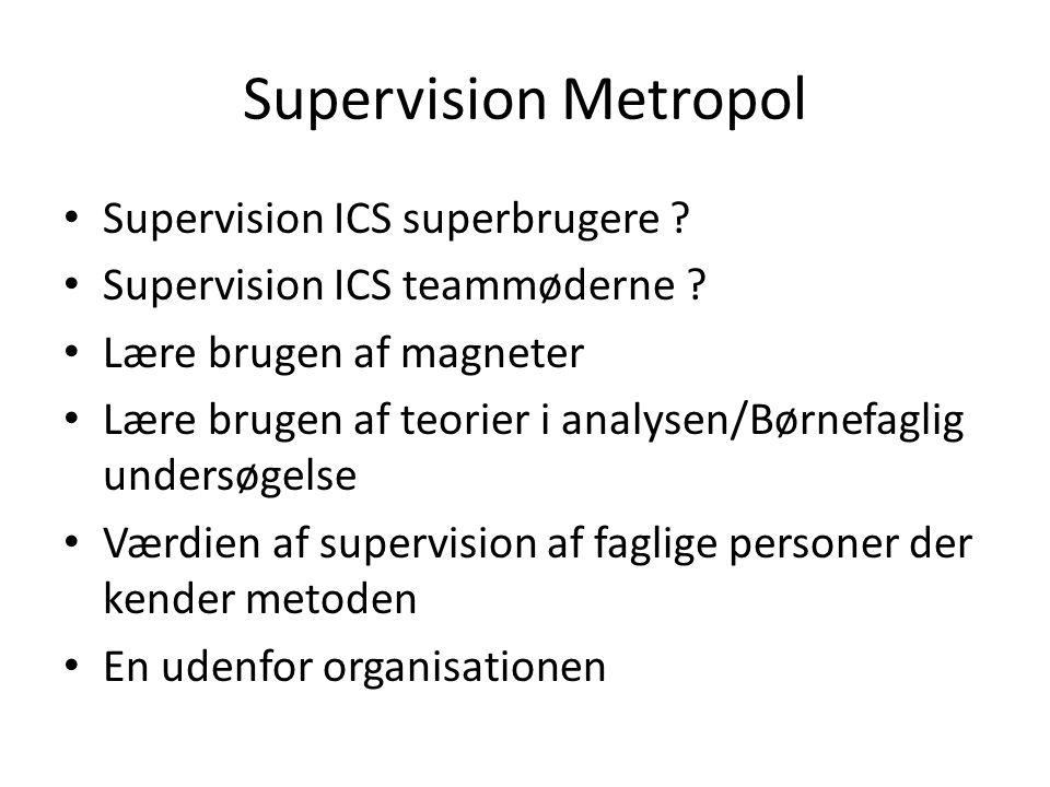 Supervision Metropol Supervision ICS superbrugere