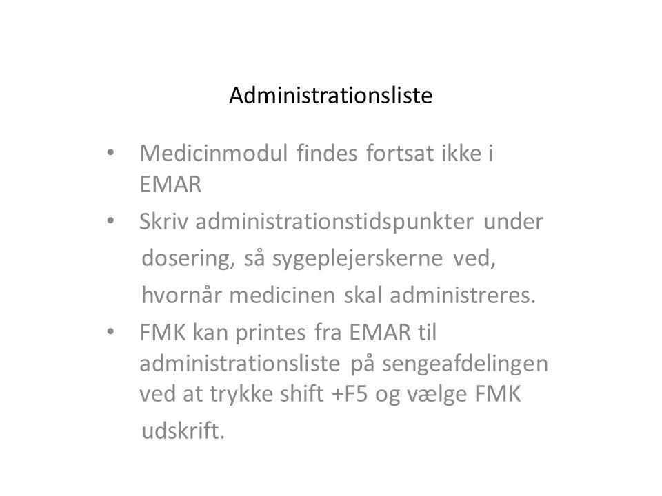 Administrationsliste