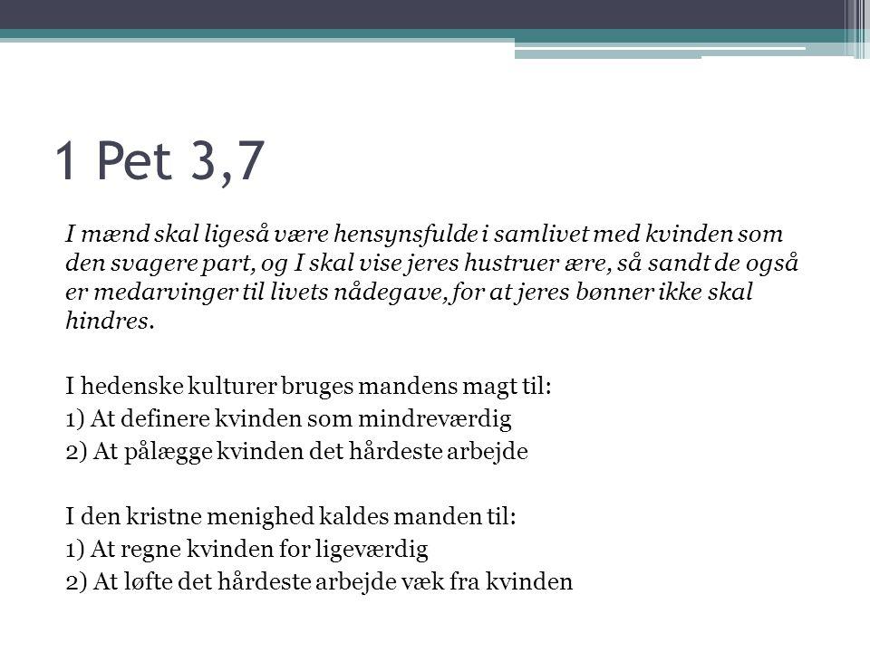 1 Pet 3,7