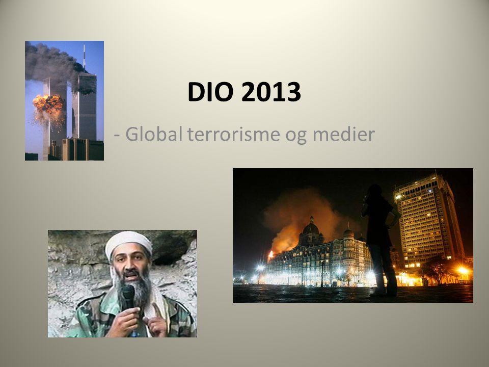 - Global terrorisme og medier