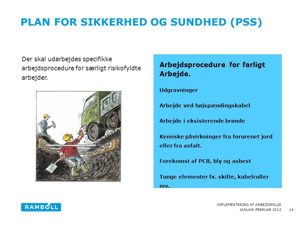 Plan for sikkerhed og Sundhed (PSS)