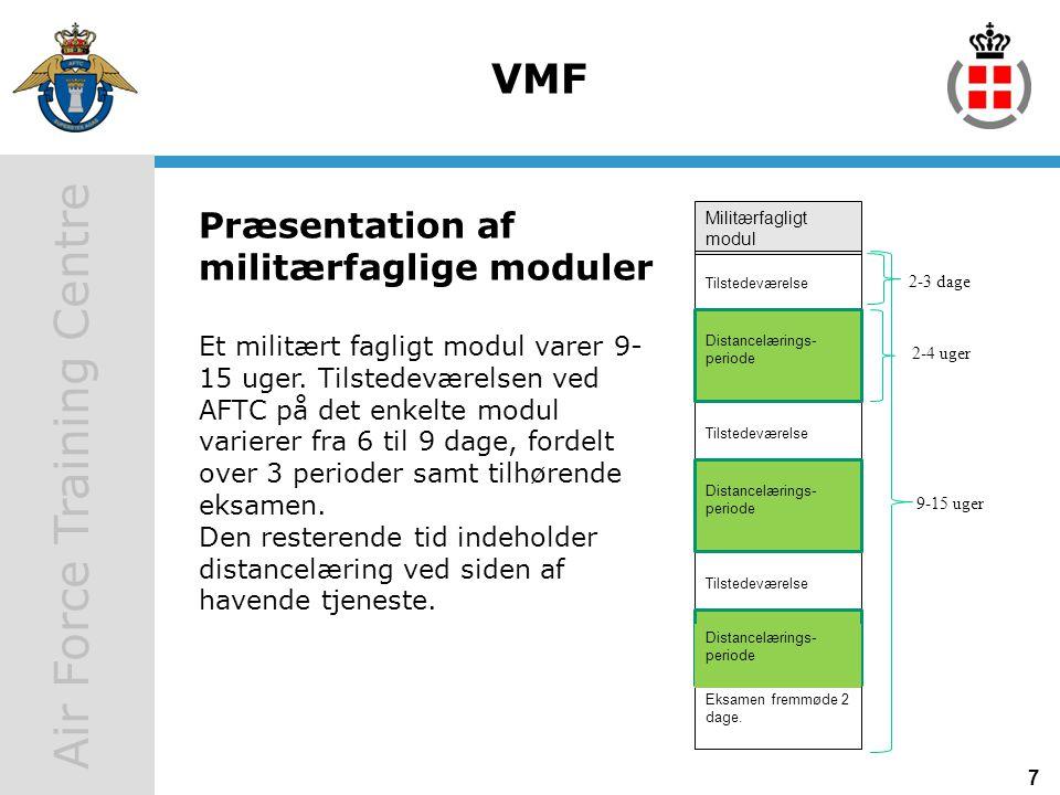 VMF Præsentation af militærfaglige moduler