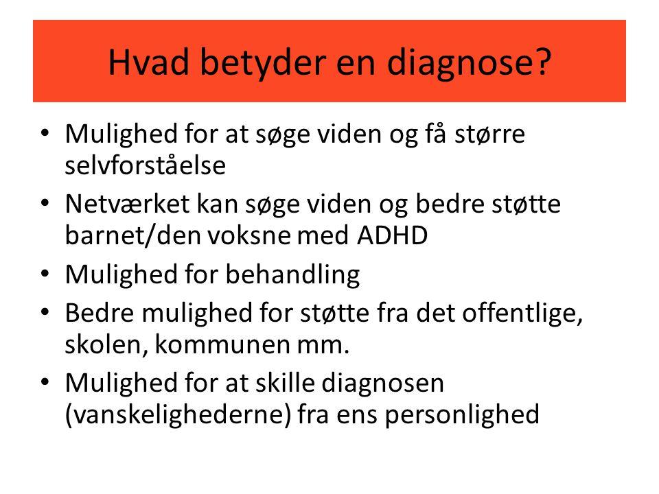 Hvad betyder en diagnose