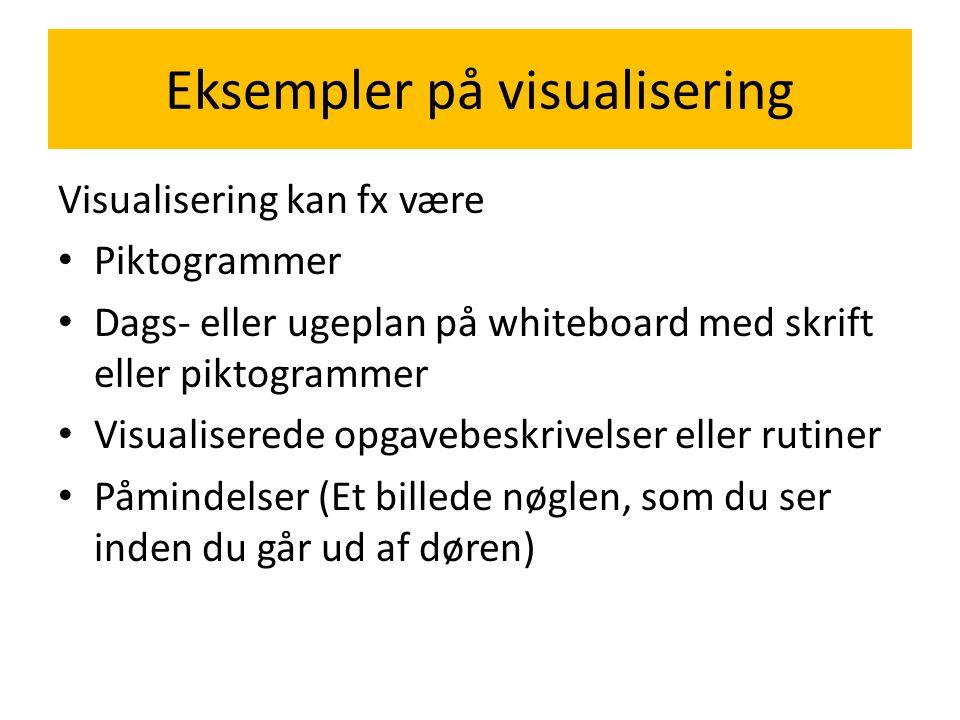 Eksempler på visualisering