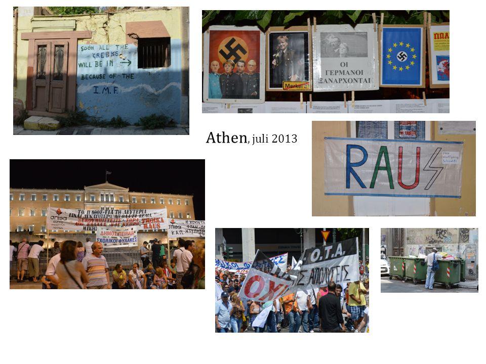 Athen, juli 2013