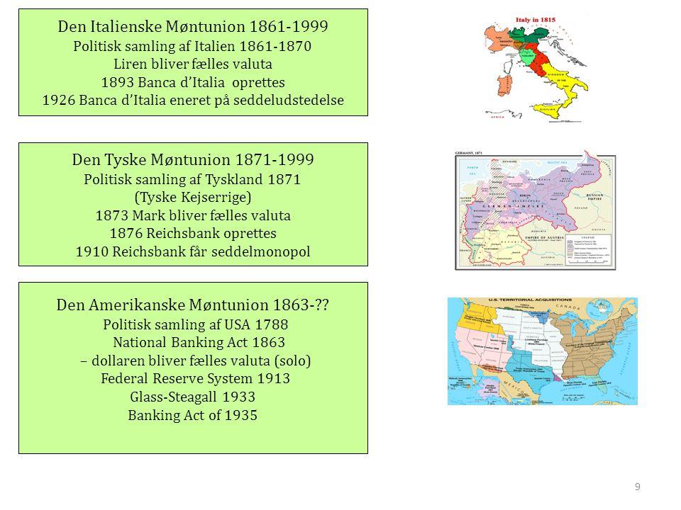 Den Italienske Møntunion 1861-1999