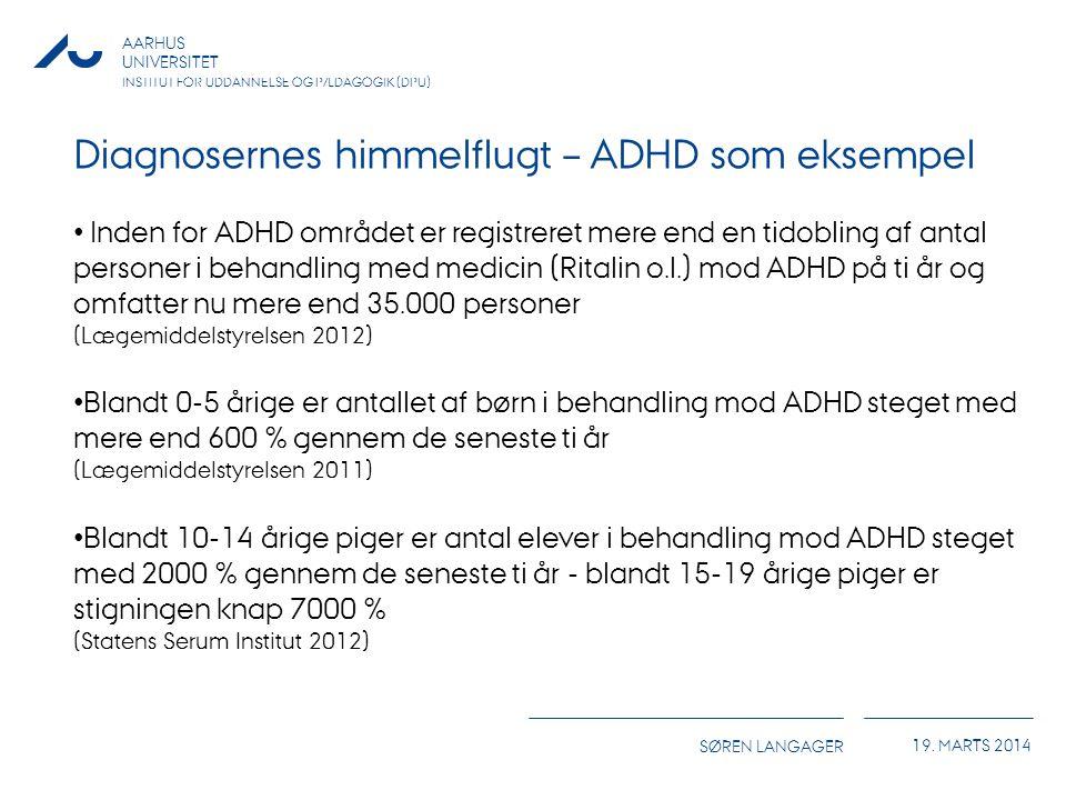 Diagnosernes himmelflugt – ADHD som eksempel