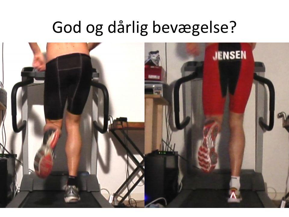 God og dårlig bevægelse