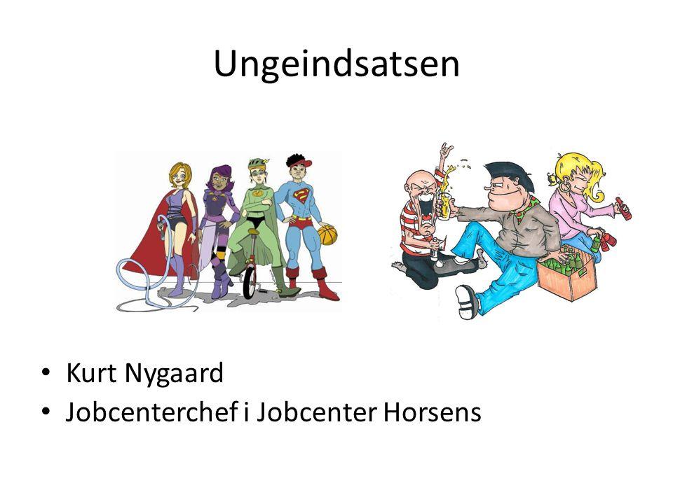 Ungeindsatsen Kurt Nygaard Jobcenterchef i Jobcenter Horsens