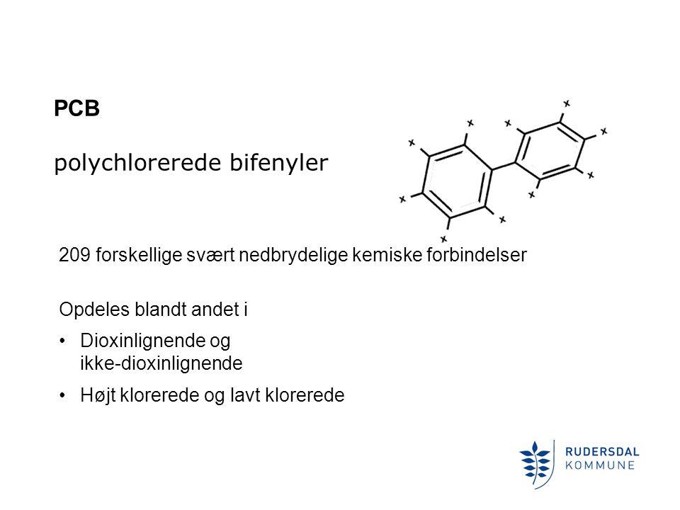 PCB polychlorerede bifenyler