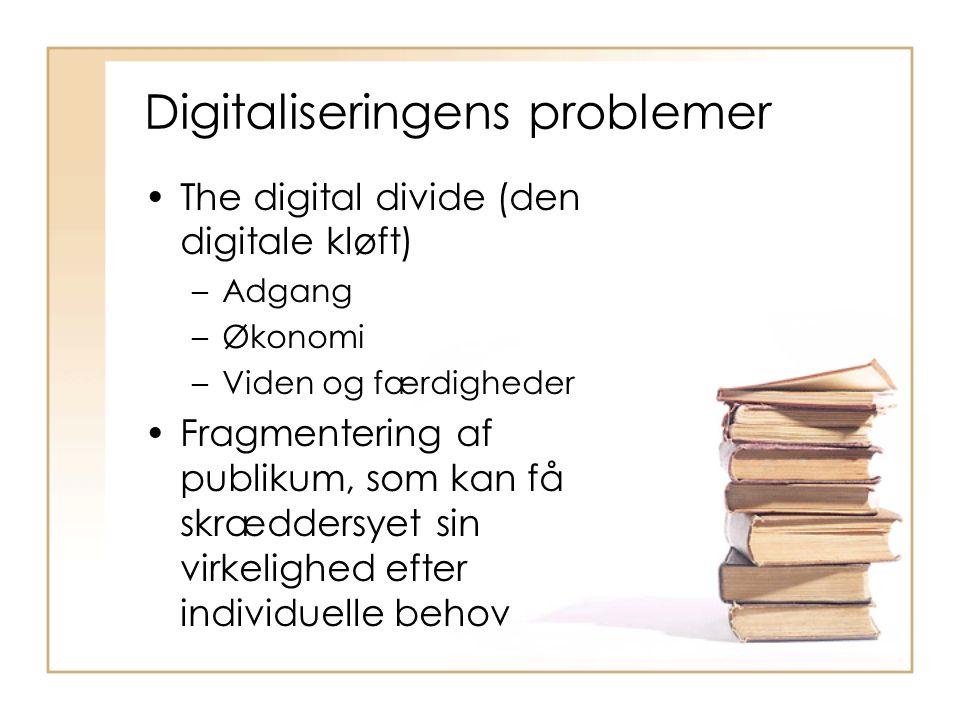 Digitaliseringens problemer