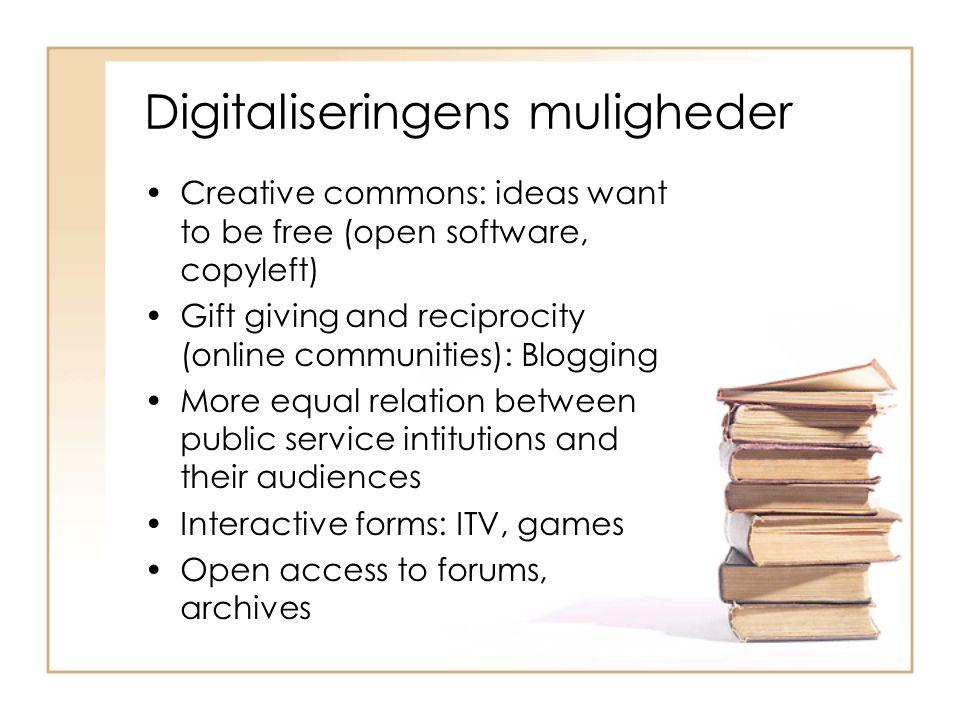Digitaliseringens muligheder
