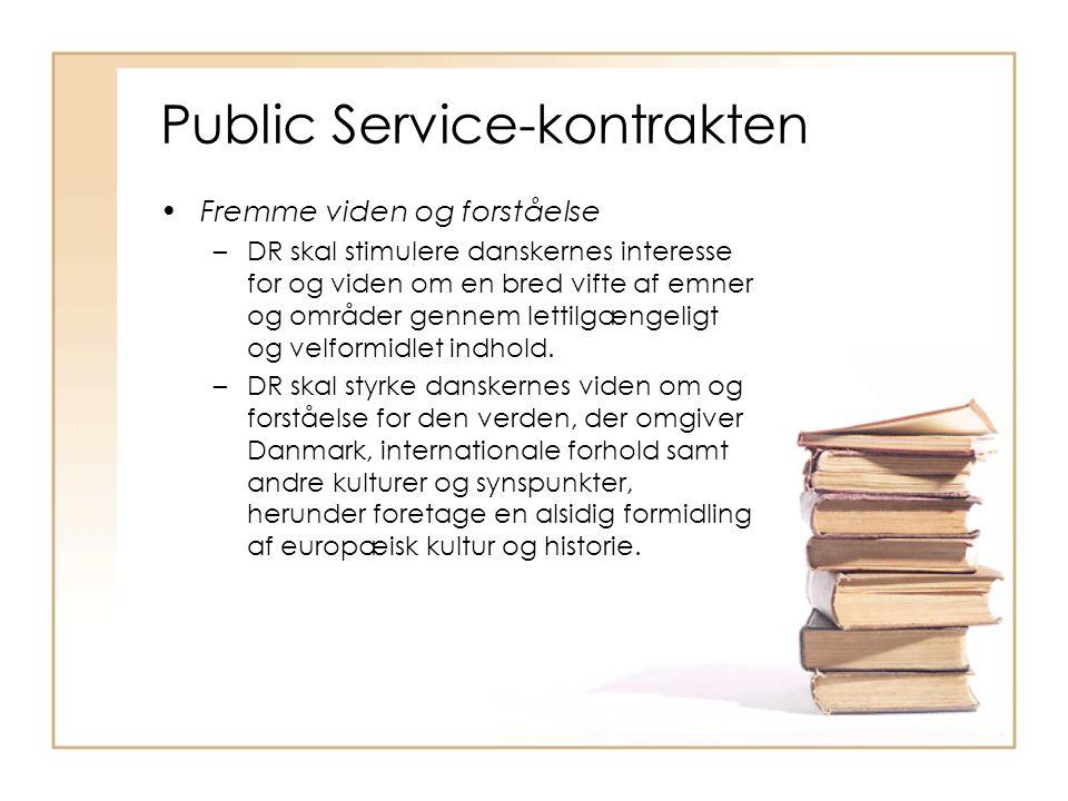 Public Service-kontrakten