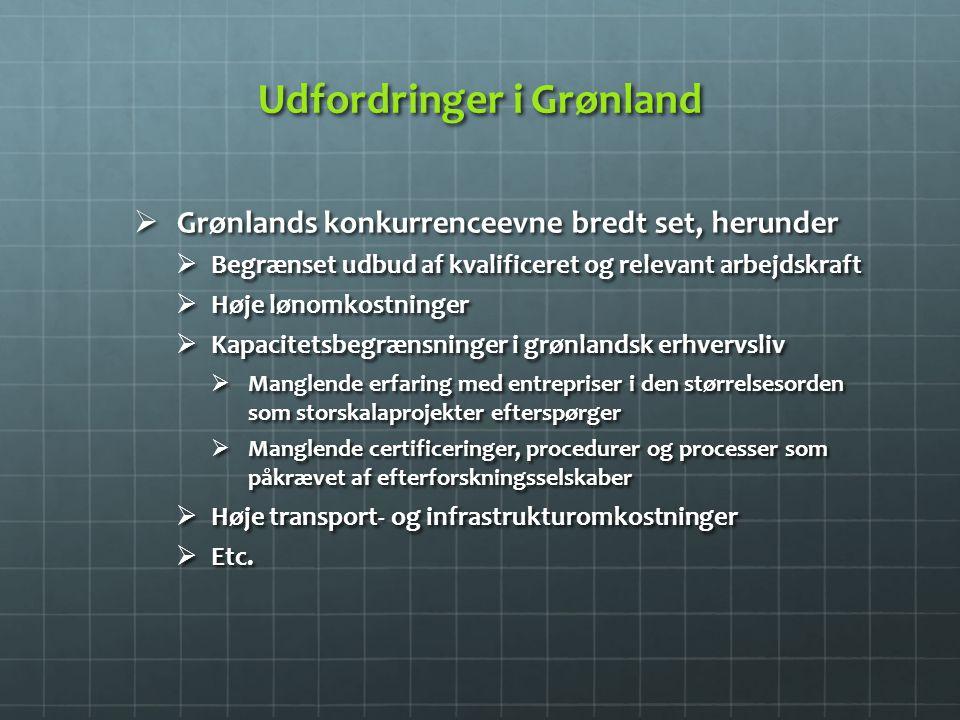 Udfordringer i Grønland