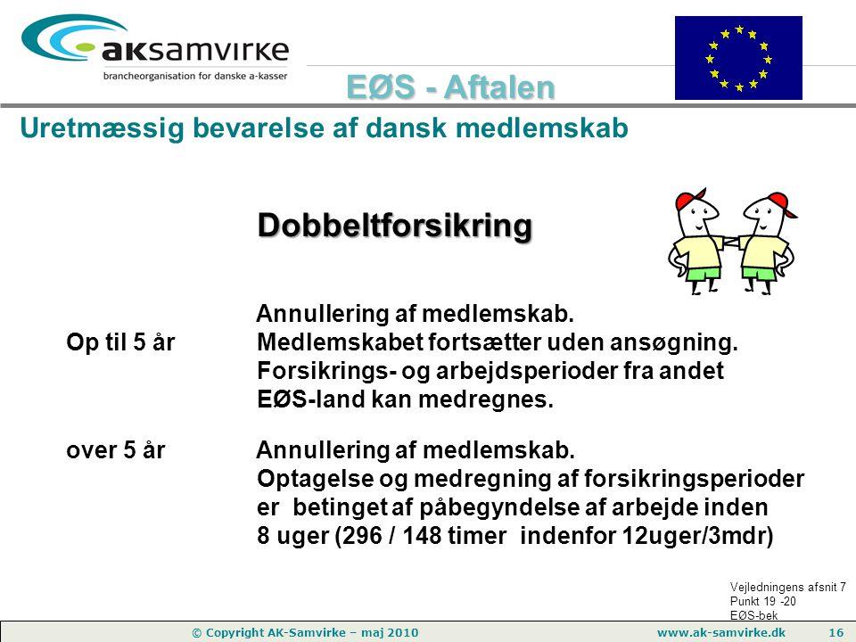 Uretmæssig bevarelse af dansk medlemskab