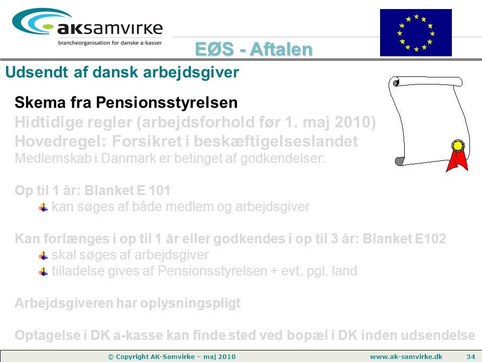 Udsendt af dansk arbejdsgiver