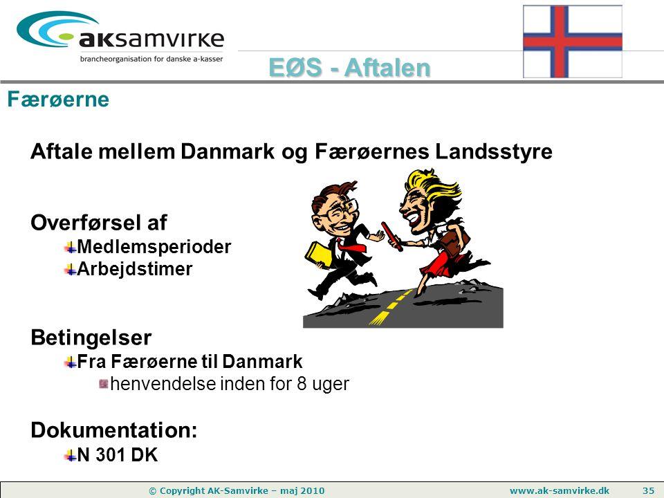 Aftale mellem Danmark og Færøernes Landsstyre