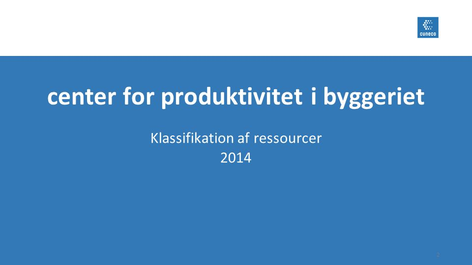 center for produktivitet i byggeriet