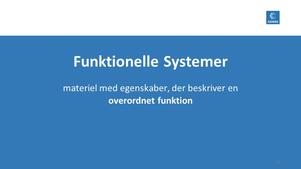 Funktionelle Systemer