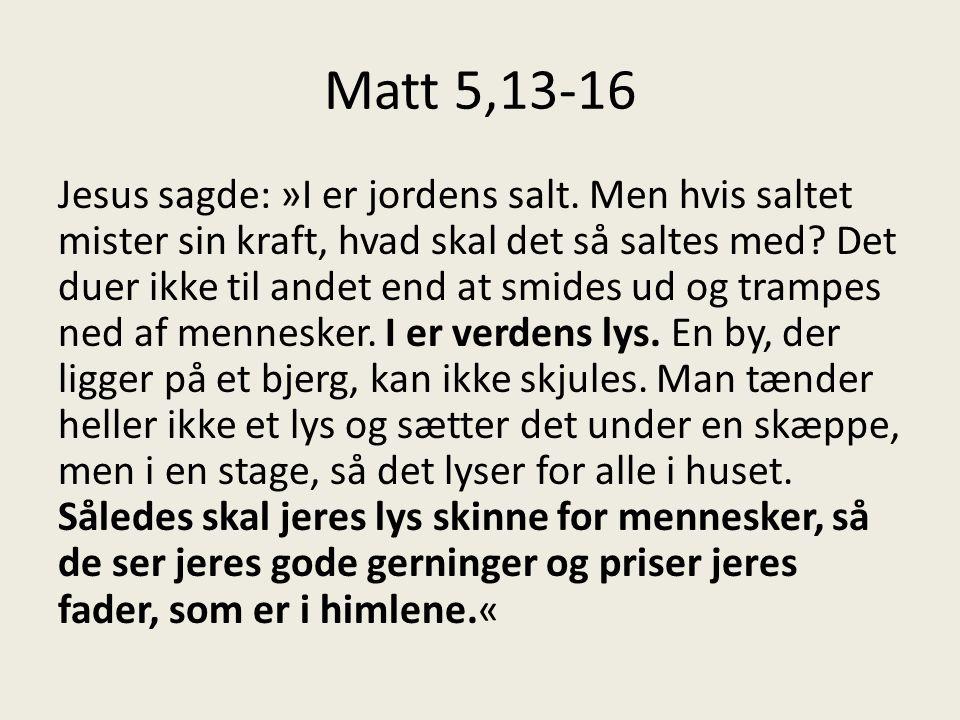 Matt 5,13-16