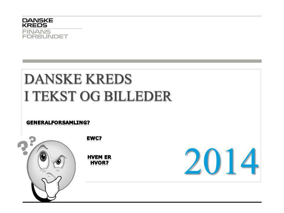 2014 . DANSKE KREDS I TEKST OG BILLEDER 03-04-2017 GENERALFORSAMLING