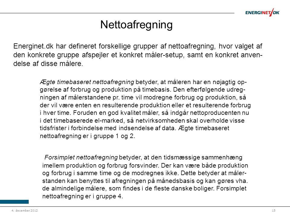 Nettoafregning