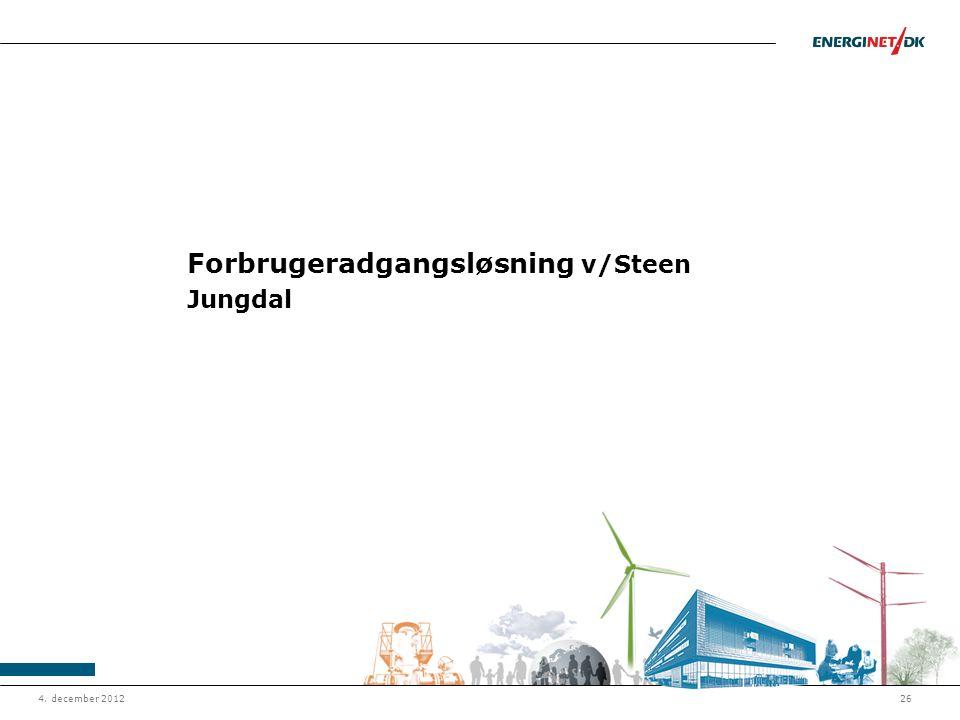 Forbrugeradgangsløsning v/Steen Jungdal