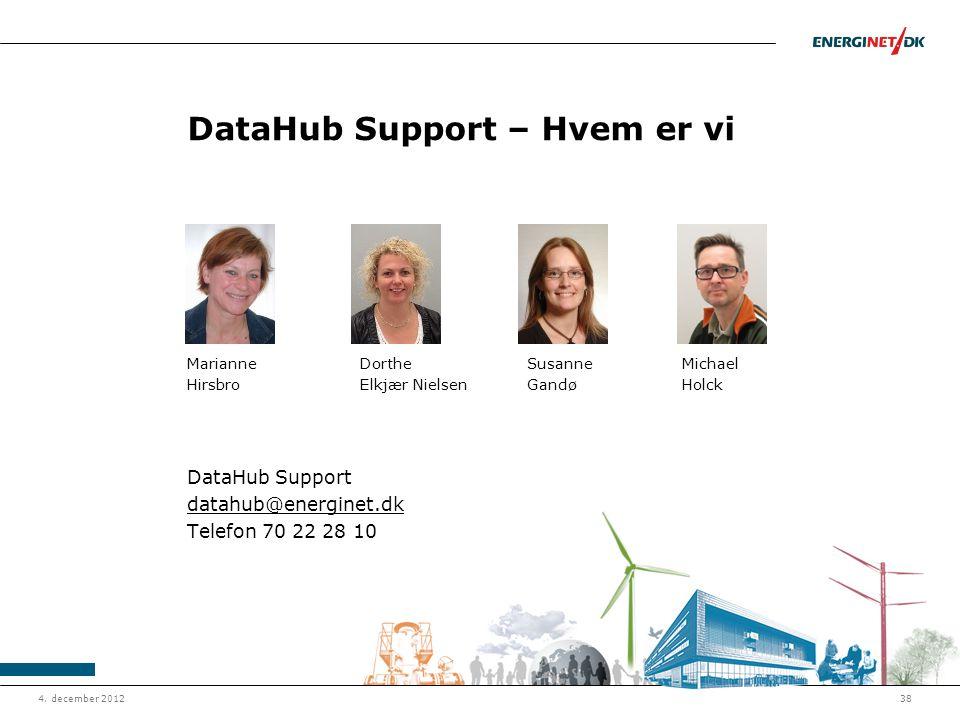 DataHub Support – Hvem er vi