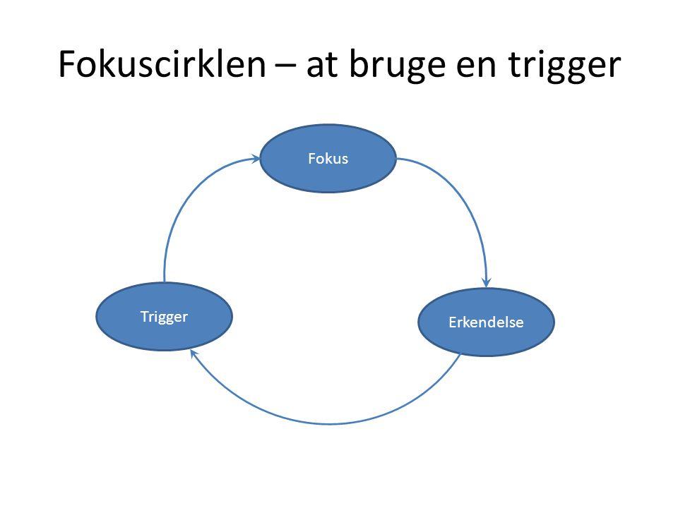 Fokuscirklen – at bruge en trigger